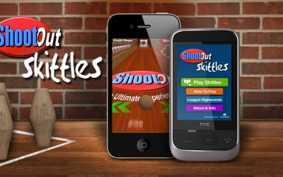 Shootout Pub Skittles Game for iOS and Android