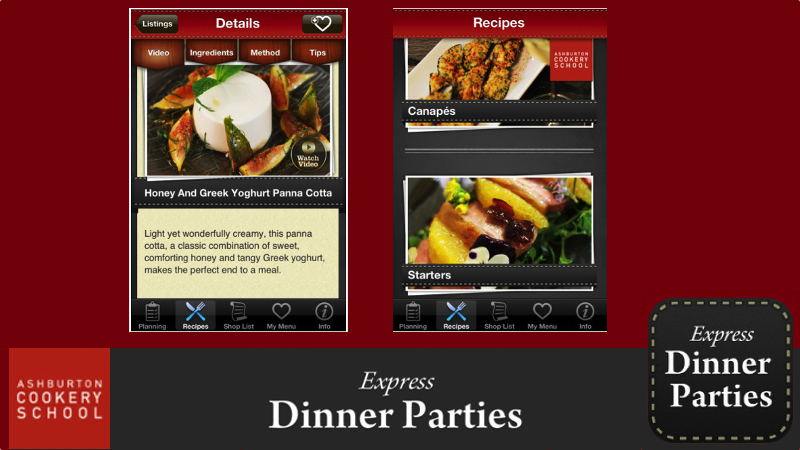 New app for Ashburton cookery school