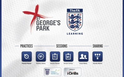 i-Drills adopted as the official FA Coach's App