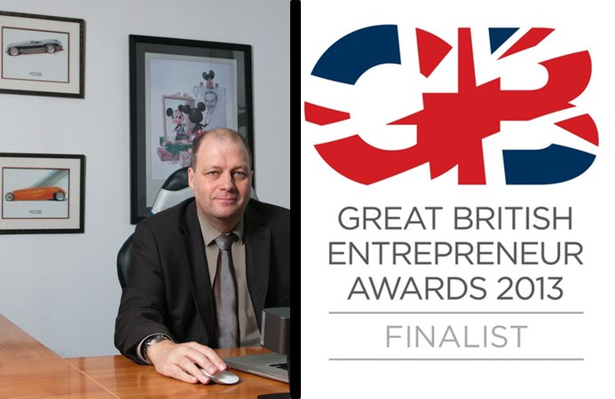 Great British Entrepreneur Award 2013