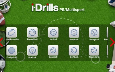 i-Drills PE & MultiSport coming to an App Store near you!
