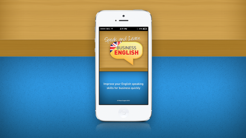 Speak and Learn Business English App nominated for award!